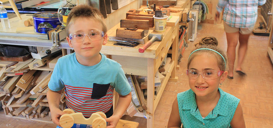 Kids and Family Woodworking Classes